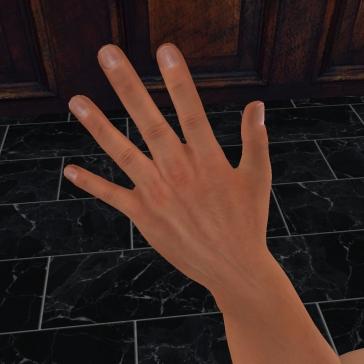 mesh hand