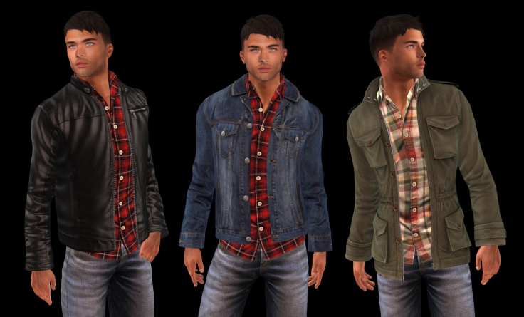 Hoorenbeen Flannel Shirt jackets